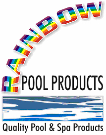 Rainbow pool products logo